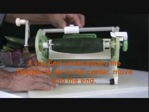 Vegg Q (Vegetable Slicer) Video 1/3