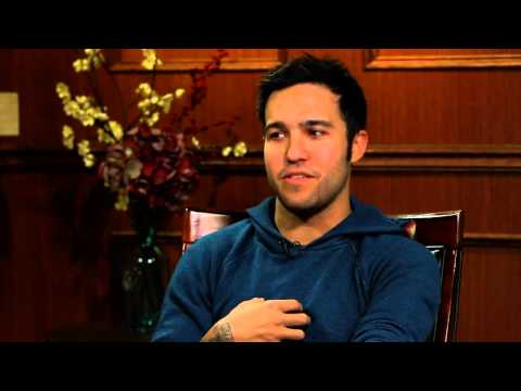 Being A Dad Is The Best Happy Pill There Is | Pete Wentz | Larry King Now - Ora TV