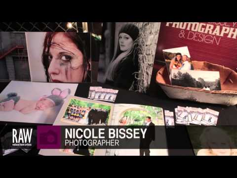 NICOLE BISSEY at RAW:Kansas City Marvel 04/24/2013