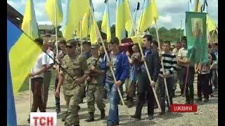 """На Буковині прощались із загиблим """"кіборгом"""" - (видео)"""