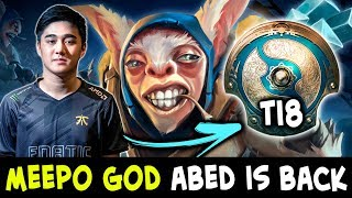 Meepo GOD is BACK — Abed practicing for TI8