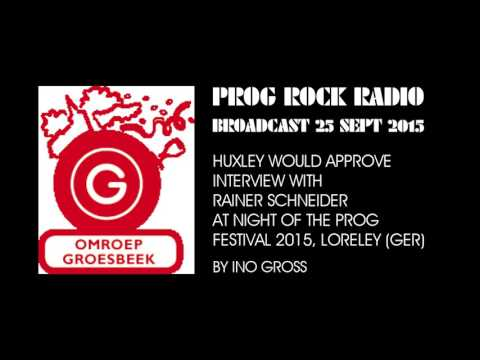 Prog Rock Radio, Holland - HWA-Interview at Night Of The Prog Festival 2015, Loreley, Germany