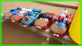 Learn Numbers Disney Cars Lightning Mcqueen Car Wash