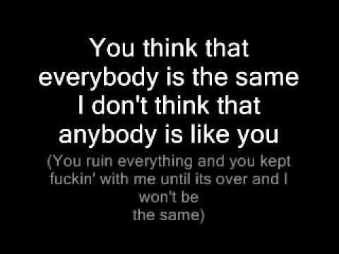 Limp Bizkit- Rearranged (Lyrics)
