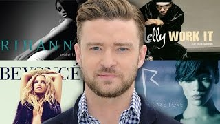 7 Songs You Didn't Know Were Written By Justin Timberlake