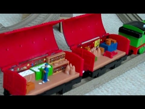 Trackmaster Thomas & Friends SEE INSIDE CARS - MAIL CARS Kids Toy Train Set Thomas The Tank Engine
