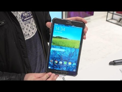 Samsung Galaxy Tab Active is a rugged tablet