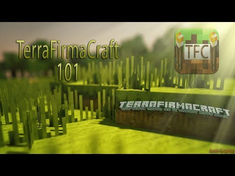 TerraFirmaCraft 101 - ep 2 - Pottery and Water