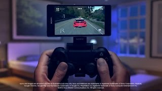 Playstation 4 - Remote Play with the Xperia Z3 [1080p] TRUE-HD QUALITY