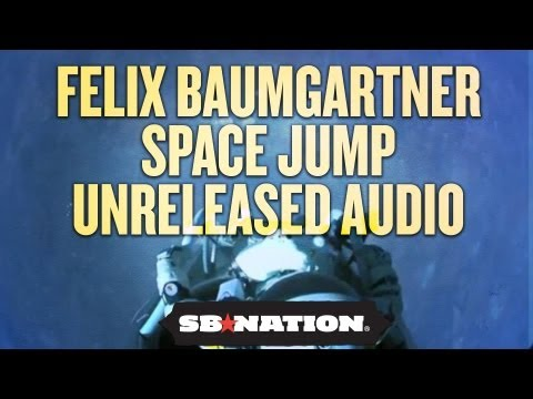 Felix Baumgartner Space Jump: Unreleased Audio