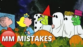 Charlie Brown Its The Great Pumpkin MOVIE MISTAKES You Didn't See