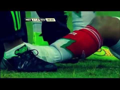 Luis Montes injury shocking in Mexico vs Ecuador 3 1