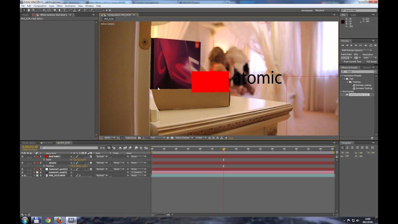 Как сделать камеру в after effects