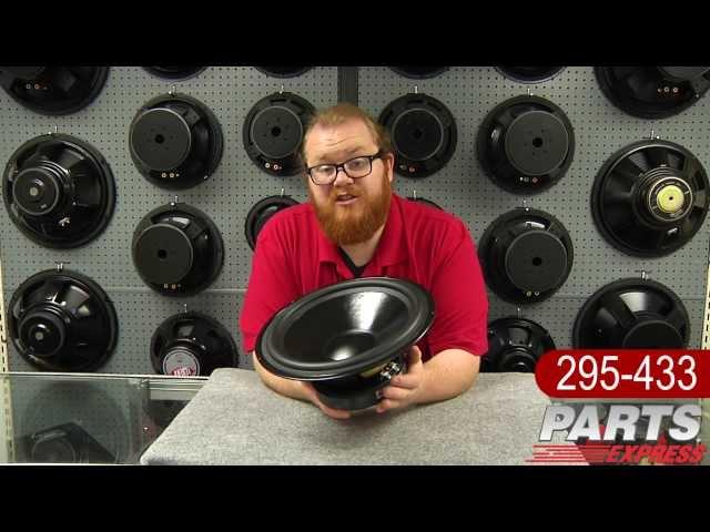 """Dayton Audio DS315-8 12"""" Designer Series Woofer"""