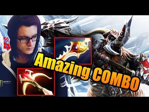 The AMAZING Fast Magnus COMBO - Miracle- Dota 2