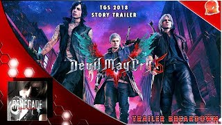 Devil May Cry 5 Dante Gameplay Breakdown - Tokyo Game Show 2018