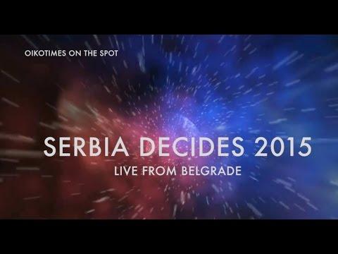 Oikotimes: Aleksa JeliĆ & Bojana Stamenov \ Serbia Decides 2015 video