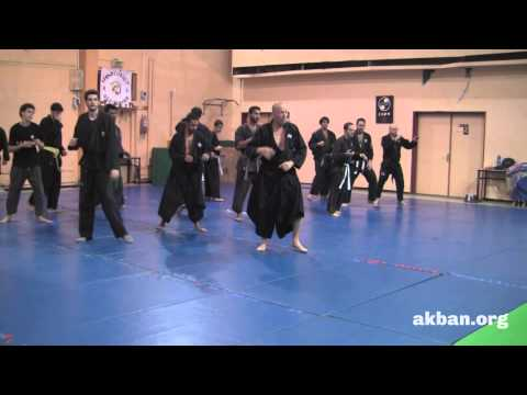 'Train at home' Ninjutsu seoe uchikomi drill - Ninjutsu training AKBAN Image 1