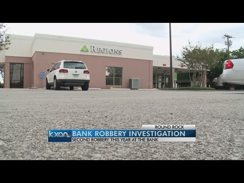 Round Rock bank robbed for second time this year