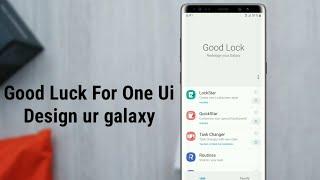 Good Lock For OneUI | Design Ur Galaxy