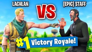 So I Challenged an Epic Employee to a 1v1 In Fortnite Battle Royale...