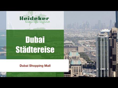 Dubai-Städtereise - Dubai Shopping Mall - mit Heideker Reisen-www.heideker.de
