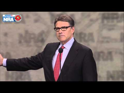 Malzberg | Rick Perry speaks at the NRA Convention