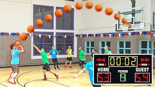 I Shot The GAME WINNER Over TRASH TALKER - Basketball Game