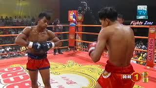 Kun Khmer, Bird Sangkhim Vs Thai, Vigo Sor Danchhai, MyTV boxing, 23 Feb 2018, Knockout  Fights Zone