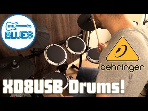 Behringer XD8USB Electronic Drum Kit Demo