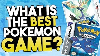What Is The Best Pokemon Game? (Ranking My Favourite Pokemon Games)