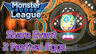 Win or Fail? | 2 Heroic Festival Eggs | Monster  Super League