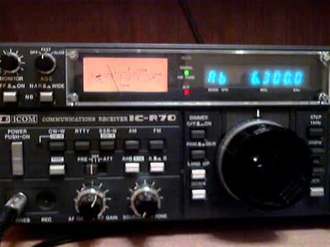 North Korean jamming on 6060 and 6300 KHz against