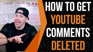 How To Delete YouTube Comments On Anyone