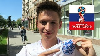 WEARING ENGLAND SHIRTS IN RUSSIA... GETTING ATTACKED?! - England vs Tunisia
