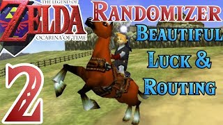 Ocarina of Time Randomizer [2] - Lucky & Convenient