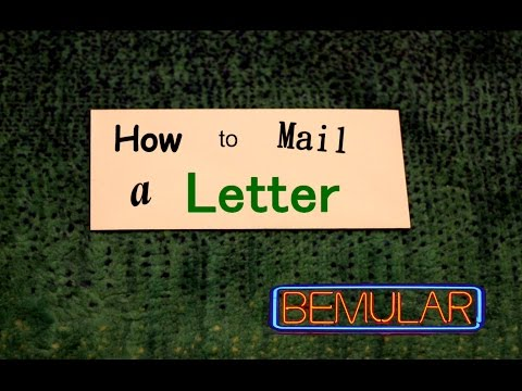 Bemular - How To Mail A Letter (Educational Kids Music & Video)