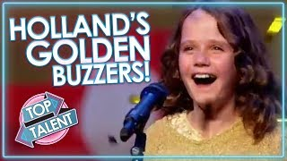 Holland's Best GOLDEN BUZZERS! | Top Talent