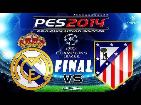 PES 2014 UEFA Champions League FINAL Real Madrid C.F. vs Atletico Madrid