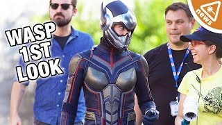 Our 1st Full Look at The Wasp in the Ant Man Sequel! (Nerdist News w/ Jessica Chobot)