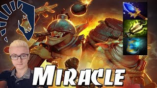 MIRACLE Techies Immortal Pro Gameplay   Dota 2