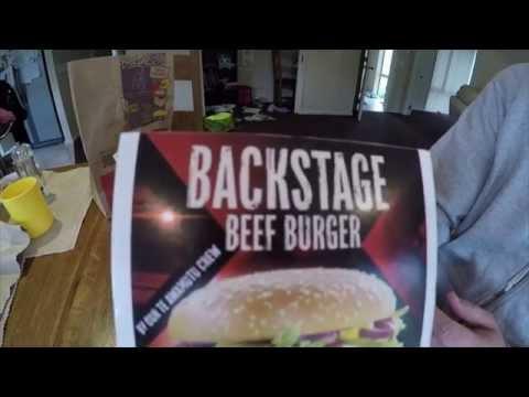 McDonald's Backstage Beef Burger in New Zealand