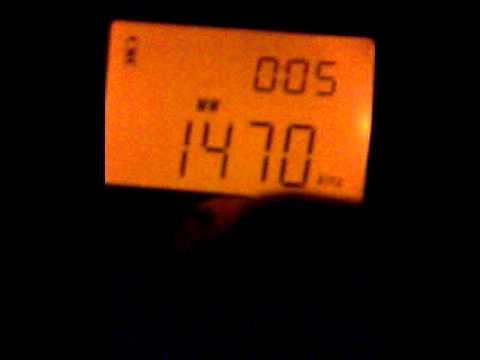 DX - Radio Cristal del Uruguay (AM 1470 Mhz) captada desde Buenos Aires