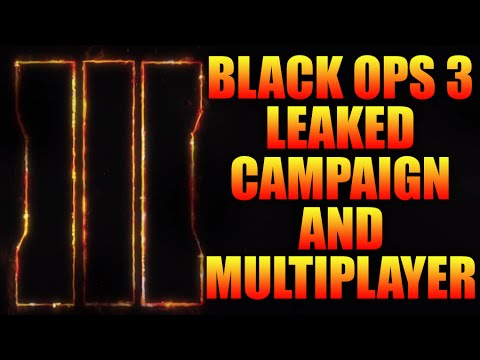 ★CALL OF DUTY BLACK OPS 3★ LEAKED INFO - CAMPAIGN PLOT, NO EXO-SUITS, ROBOTIC SOLDIERS + MORE!