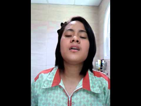 Pinay Nanny in dubai sing i will always love you.