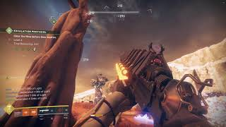 Escalation Protocol Complete | 7 Hunters, 1 Titan, 1 Warlock