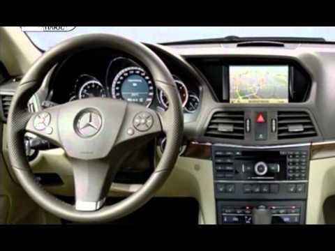 Mercedes Benz E class coupe - Наши тесты