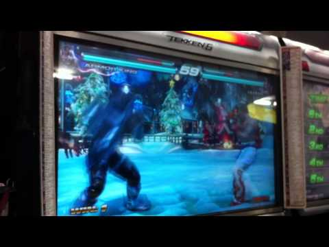 TTT2 Jeongin Location Test4 A King-Paul vs Paul-Kazuya