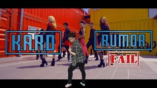 【KY】K.A.R.D — RUMOR DANCE COVER(Fail/Parody? ver.)