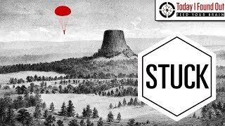 That Time a Guy Parachuted Onto Devils Tower and No One Could Figure Out How to Get Him Down by : Today I Found Out